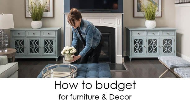 How to Budget for Furniture & Decor