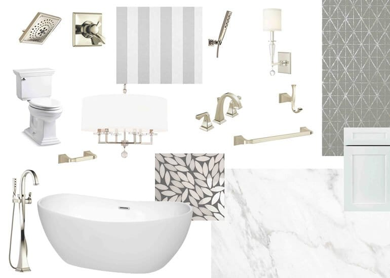 Mood boards for Interior Designers - Example 2