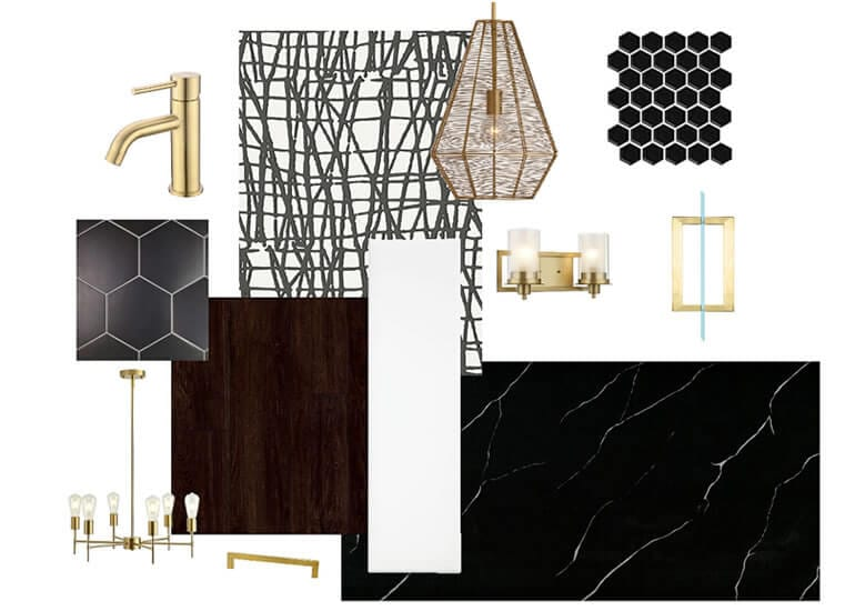 Mood boards for Interior Designers - Example 4
