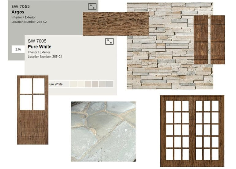 Mood boards for Interior Designers - Example 5